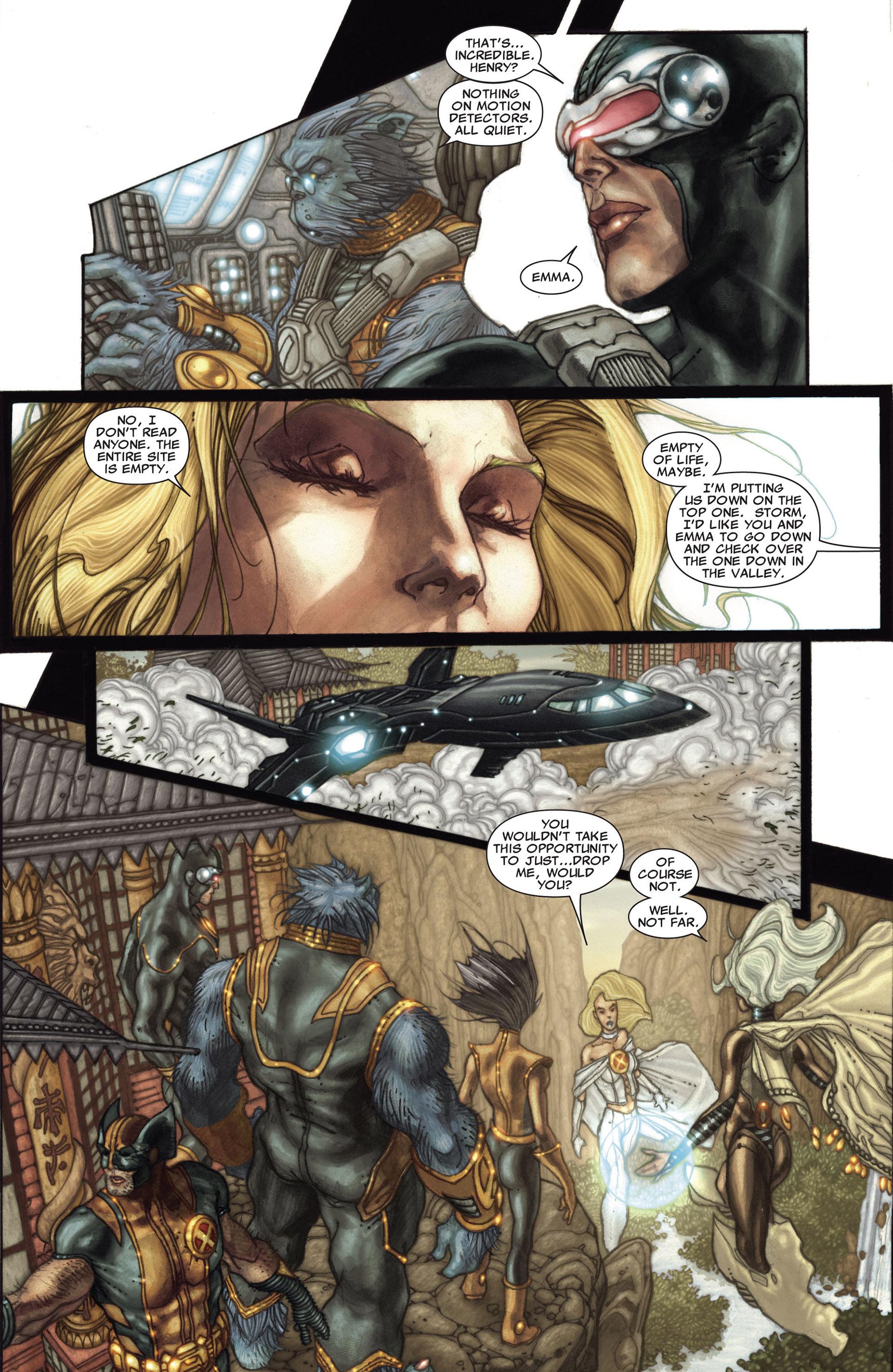 Read online Astonishing X-Men (2004) comic -  Issue #27 - 19