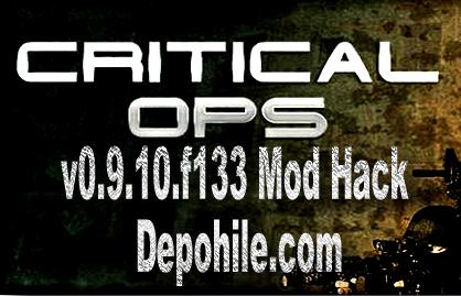 Critical Ops v0.9.10.f133 Mod Radar Hileli İndir Son Sürüm