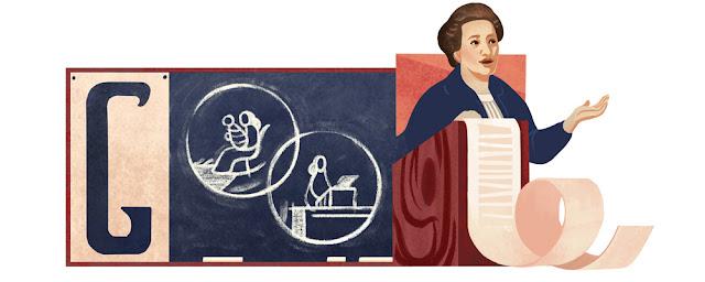 Františka Plamínková's 141st Birthday - Google Doodle