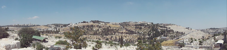 Mount of Olives panorama