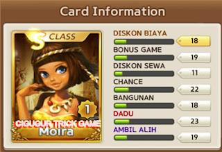 Cara jitu kombinasi kartu get rich untuk mendapatkan S dan S+