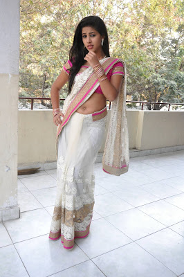 Actress Pavani Hot Saree Photos