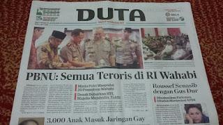 Semua Teroris Di Indo Dari Wahabi