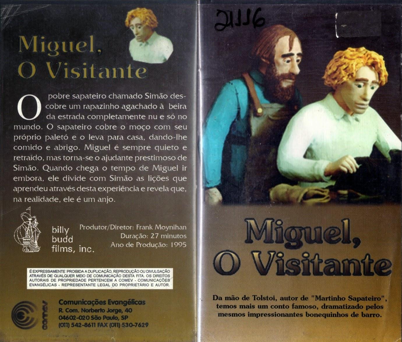 Miguel O Visitante (1995) – Dublado – Raro