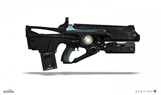 Destiny Concept Art Weapons