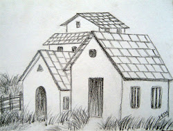 easy landscape drawings simple drawing draw houses very beginners types different started above