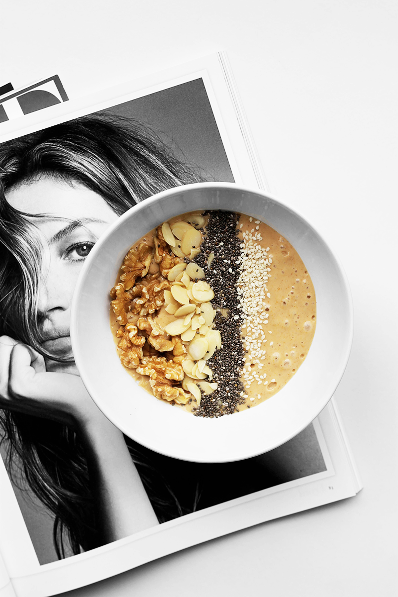 Healthy Recipe | Peanut Butter Smoothie Bowl