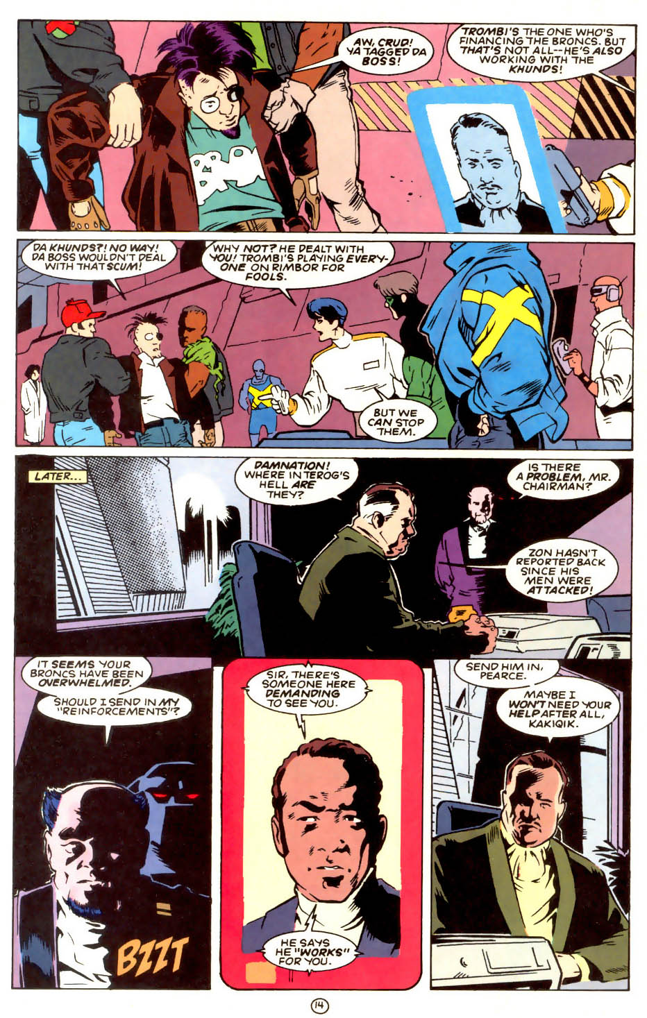 Legion of Super-Heroes (1989) 56 Page 14