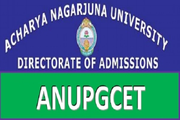 ANUPGCET hall tickets, Exam dates