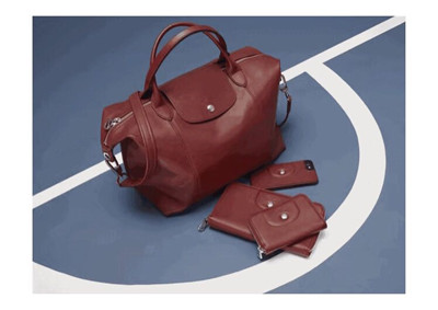88904c2158 In the autumn and winter season, a Longchamp bag filled with red wine and  fragrant leaves makes you amazed. Warm and rich wine red with the queen's  ...