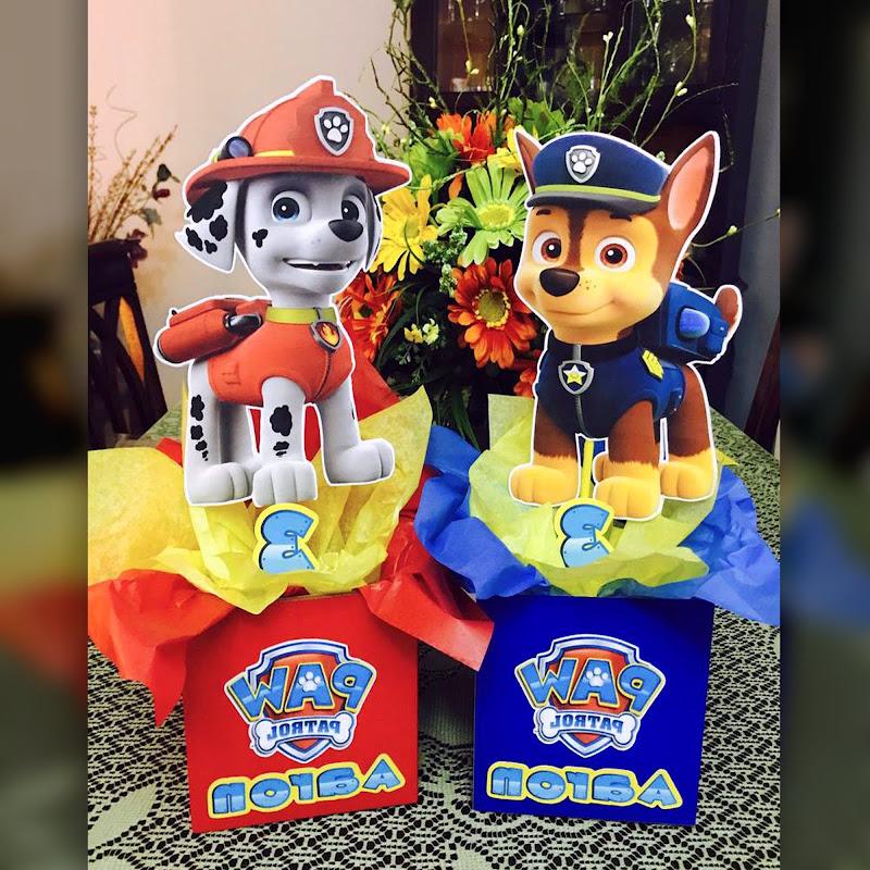 Centros de Mesa Patrulla Canina - Paw Patrol