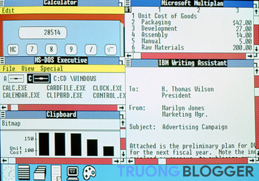 Windows 2.0 (1987-1990)
