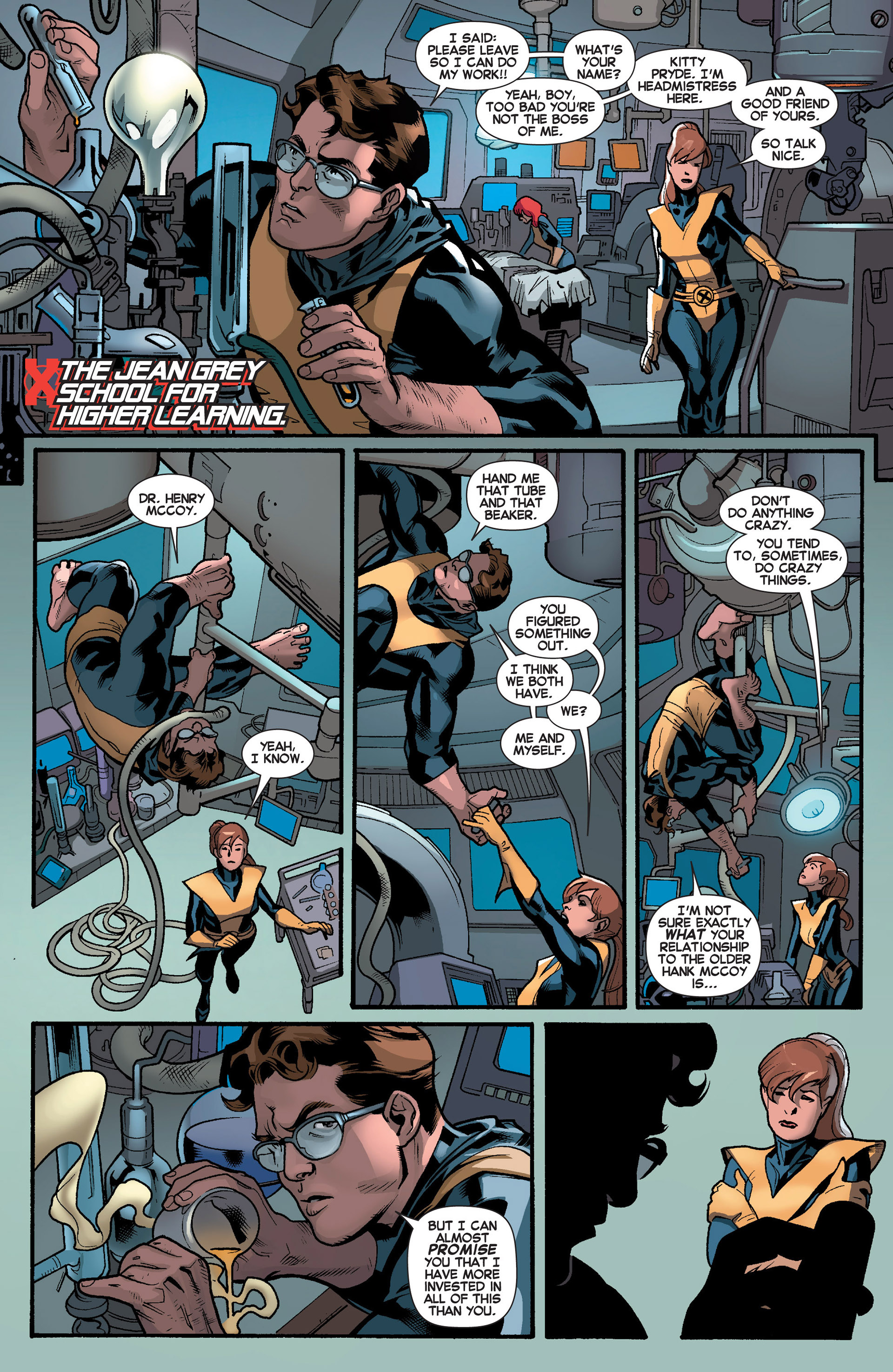 Read online All-New X-Men (2013) comic -  Issue #5 - 10