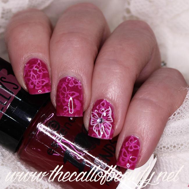 Pond Butterflies Manicure