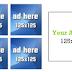 Cara membuat space kotak iklan 125x125 di Blog