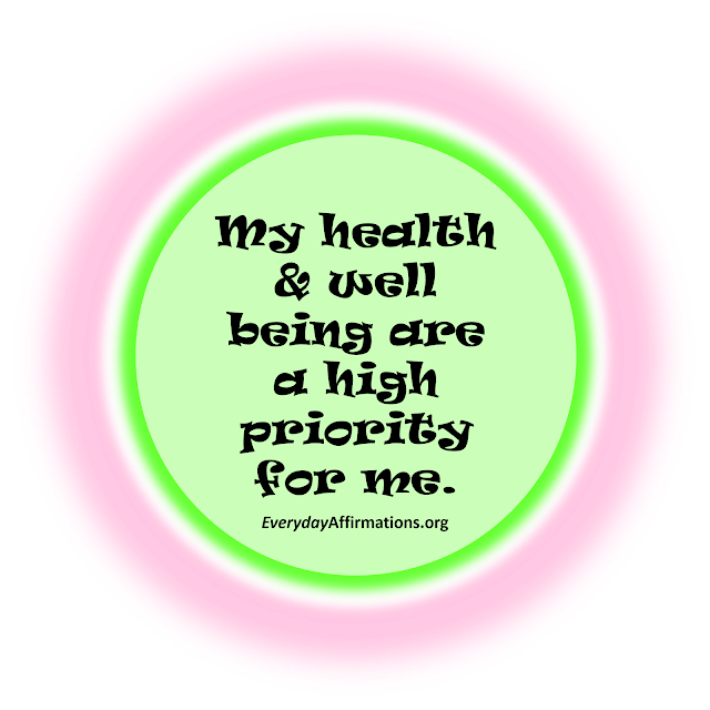 Affirmations for Weight-loss, Affirmations for Health, Daily Affirmations
