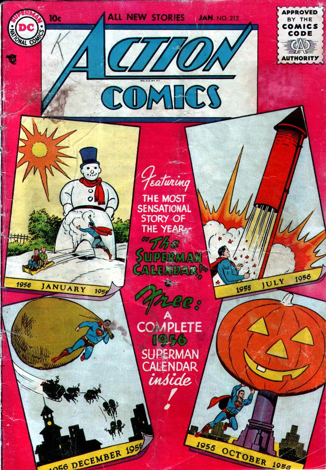 Read online Action Comics (1938) comic -  Issue #212 - 1