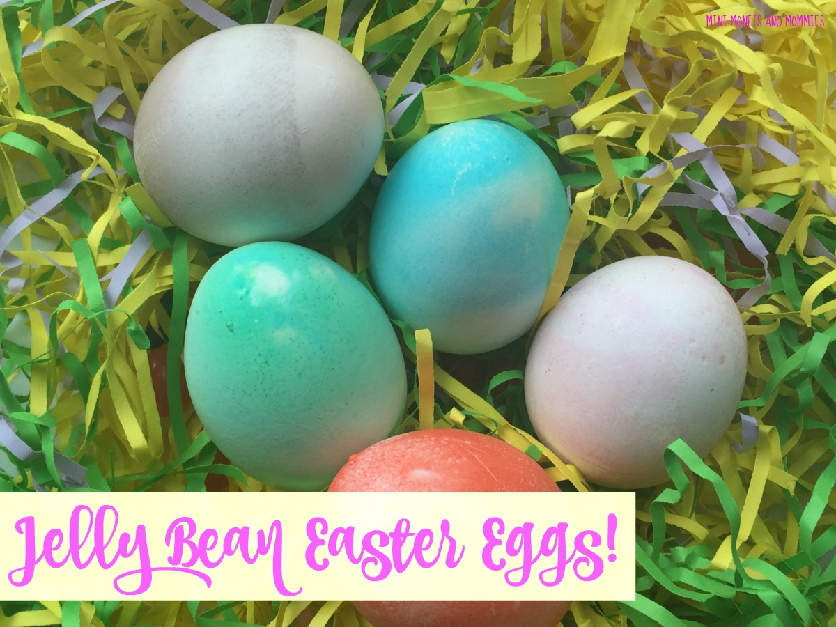 Mini Monets And Mommies Color Easter Eggs With Candy Jelly Beans And Marshmallows