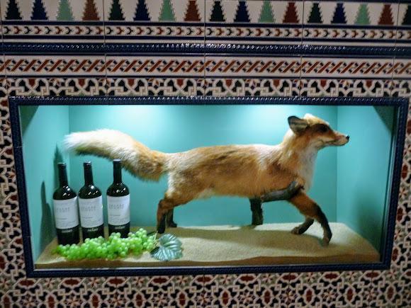Шабо. Центр культуры вина. Музей. Виноград «Лисий хвост»