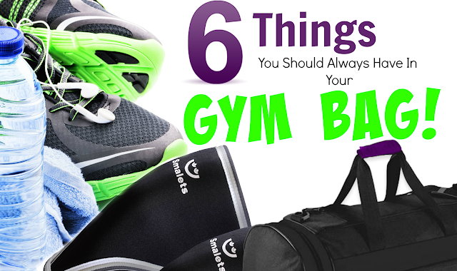 6 Things You Should Always Have In Your Gym Bag, by Barbie's Beauty Bits