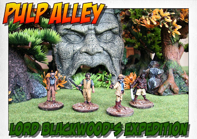 Lord Blackwood's Expedition - Pulp Alley League