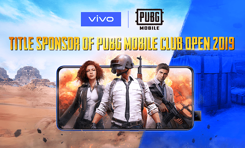Vivo is the official smartphone partner of the PUBG MOBILE Club Open 2019