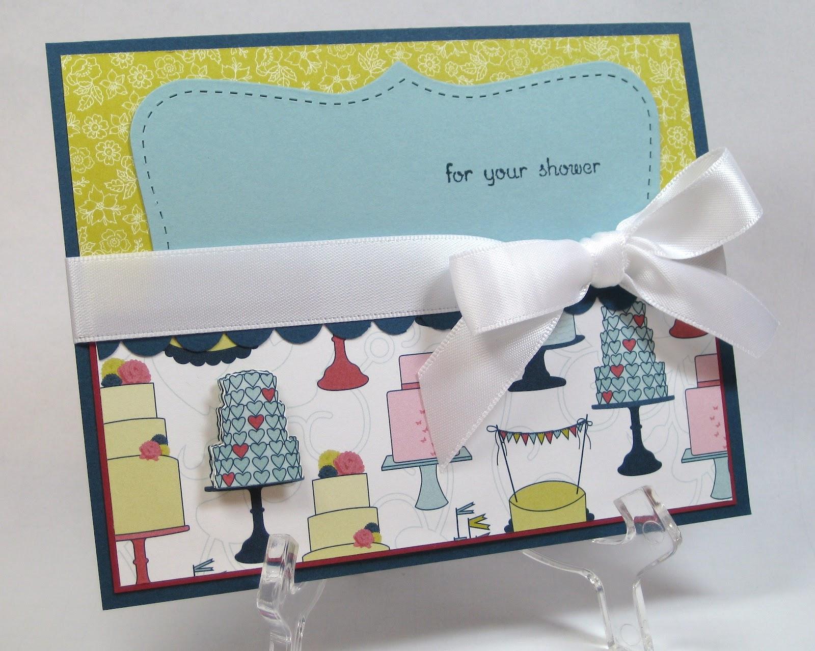 Gift Card Wedding Shower: BUNNY: Bridal Shower Gift Card Holder