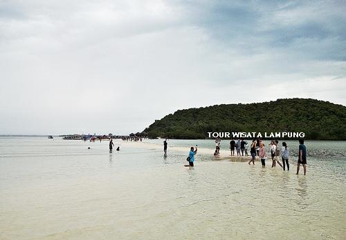 pulau pahawang kecil destinasi tour wisata lampung