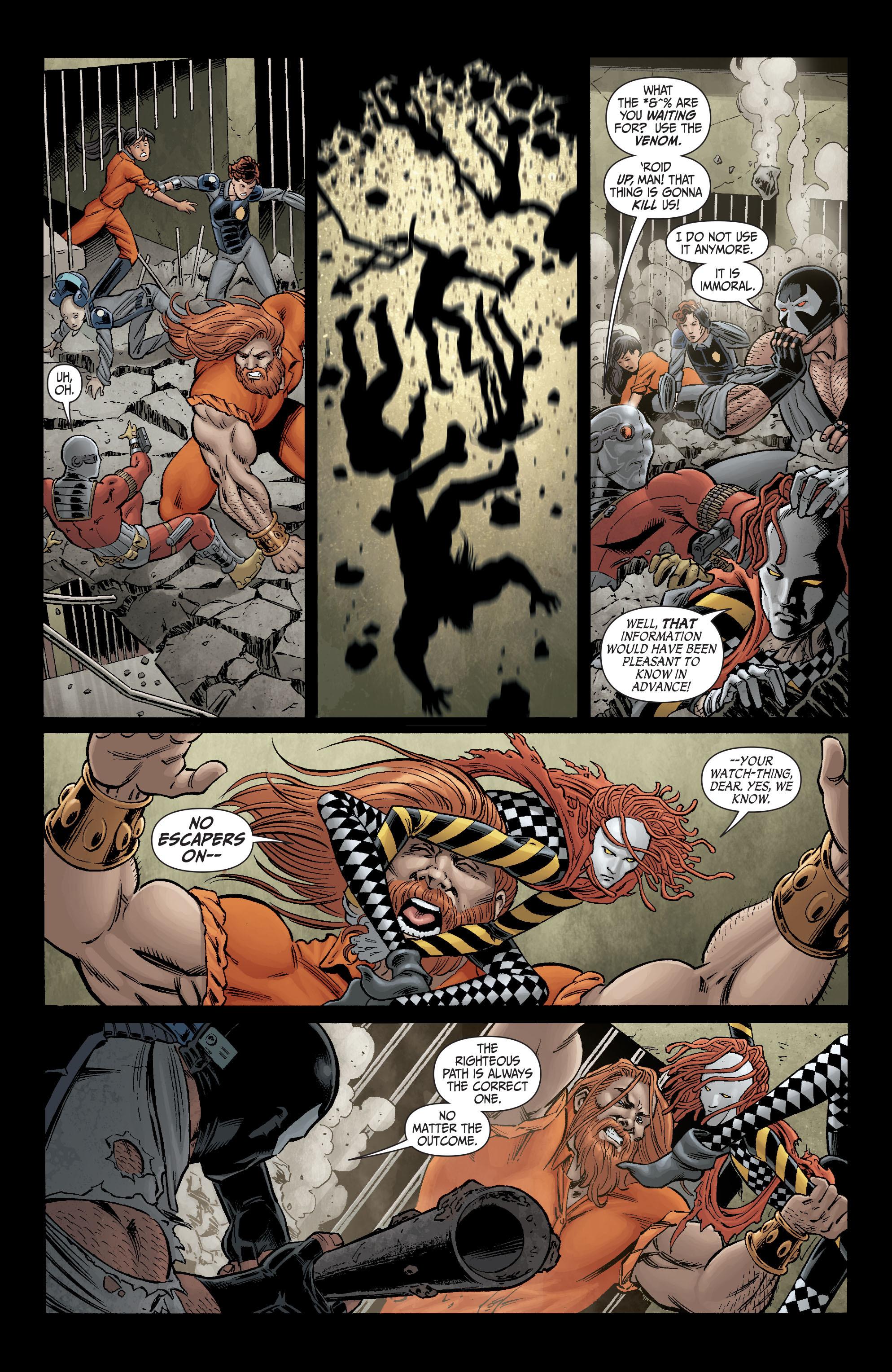 Read online Secret Six (2008) comic -  Issue #2 - 17