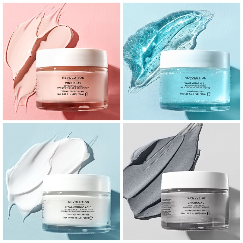 Revolution Skincare Launch Four Face Masks For All Skin Types Makeup Savvy Makeup And Beauty Blog