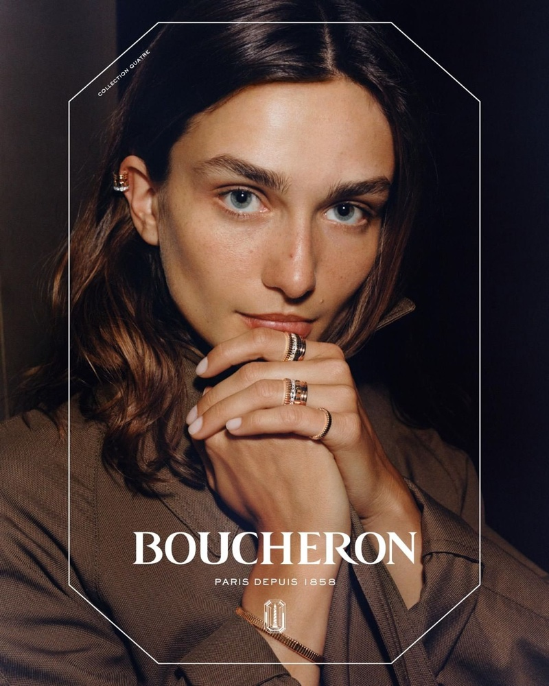 Andreea Diaconu fronts Boucheron 2019 campaign