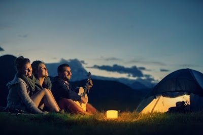 For the RV or Tent Camper: Lucis the Portable LED Lamp