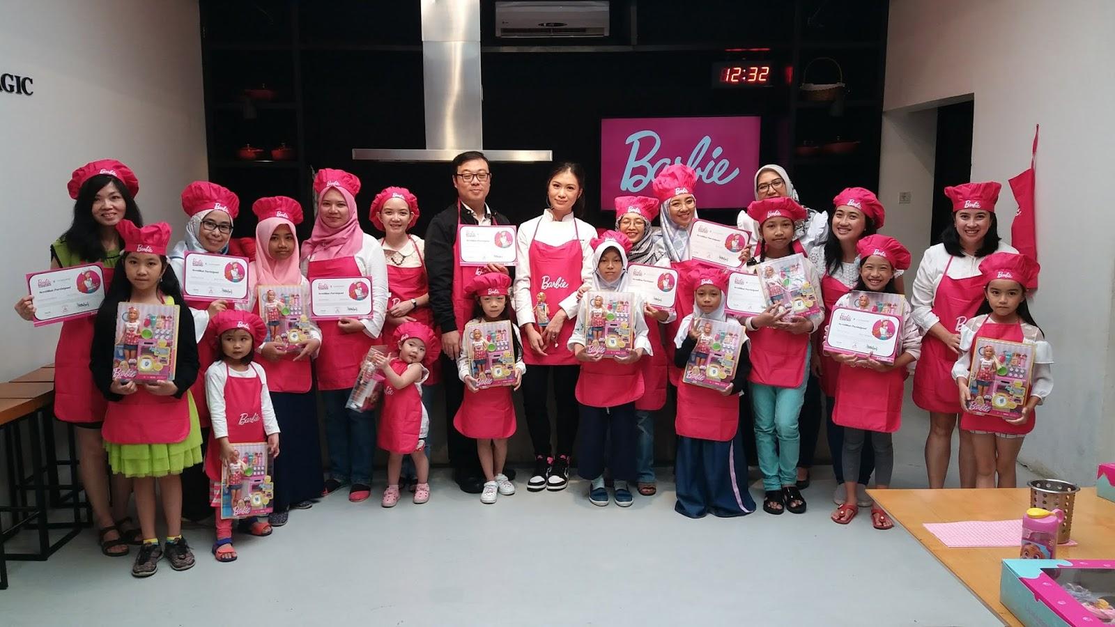 Serunya Masak Bersama Barbie Rina Susanti S Blog