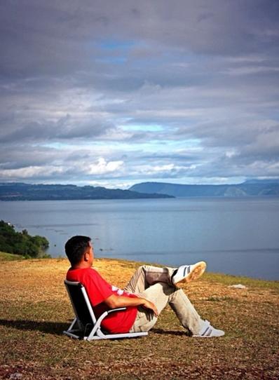 Wisata Panorama Alam Bukit Pahoda Balige
