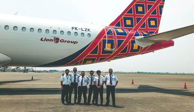 Airbus A320-200CEO PK-LZK Pesawat Baru Batik Air ke 42