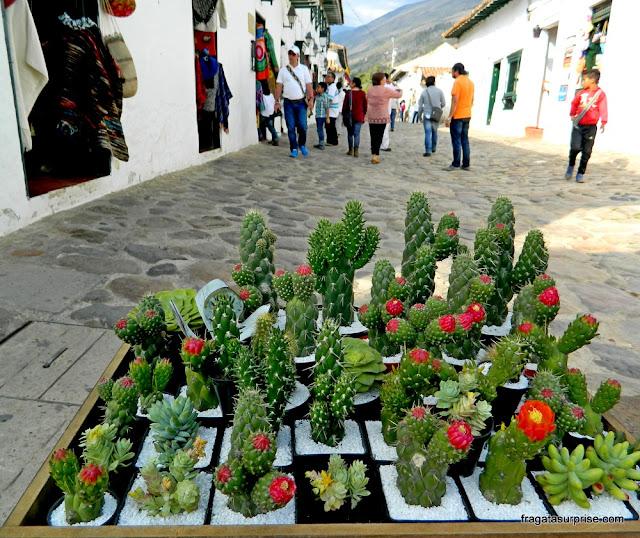 Calle Caliente, Villa de Leyva, Colômbia