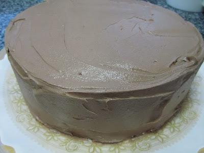 Tarta de buttercream de nutella Thermomix