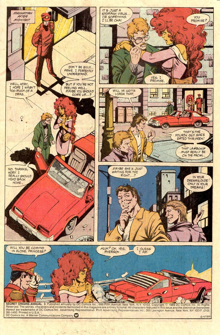 Read online Secret Origins (1986) comic -  Issue # _Annual 3 - 2