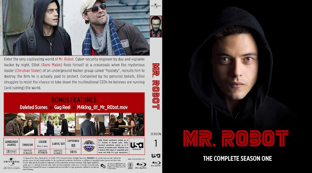Capa Bluray Mr Robot Primeira Temporada Completa