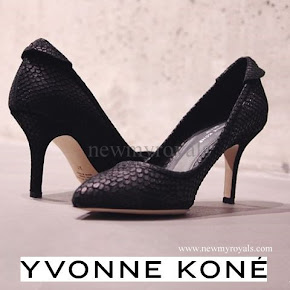 Crown Princess Mette Marit wore Yvonne Koné Shoes