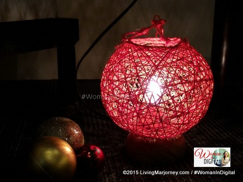 abaca lampshade at Tutuban Center