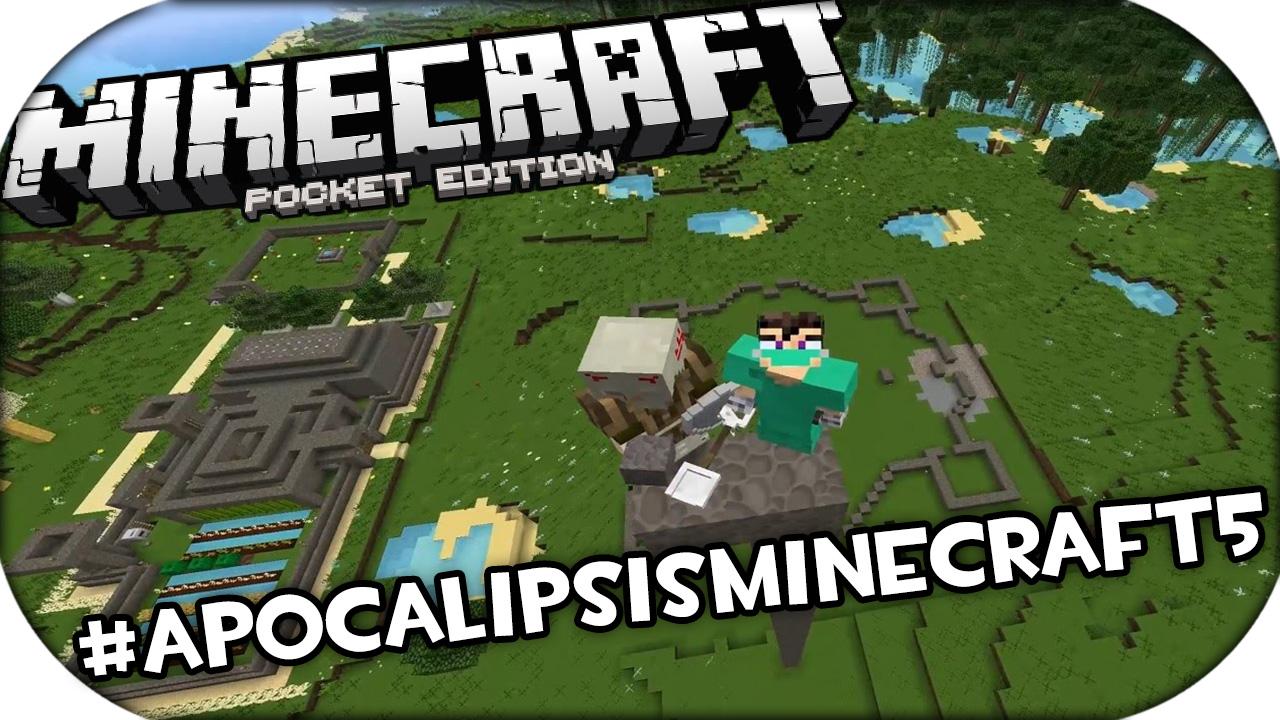 Mapa apocalipsis minecraft 5 para minecraft pe for Casa moderna en minecraft pe 0 16 0