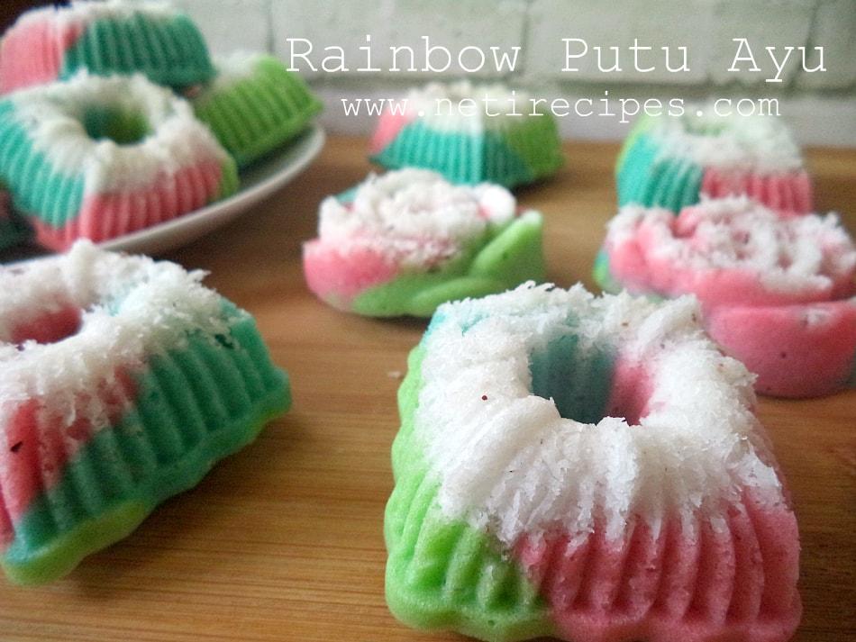 Resep Putu Ayu Rainbow Resep Neti