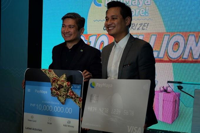 PayMaya Launches  PayMaya Pa More!' P10 Million Raffle Promo