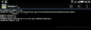 cara instal twrp/cwm via terminal emulator