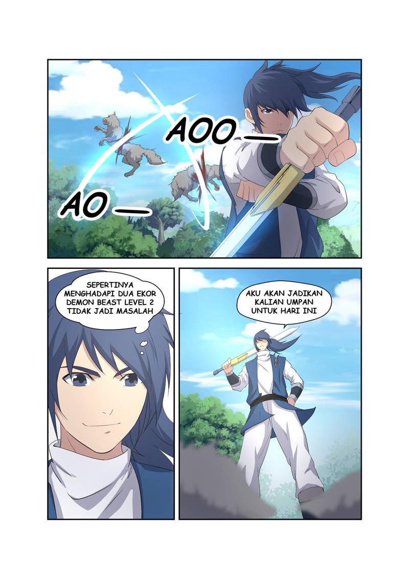 Heaven Defying Sword Bahasa Indonesia Chapter 21