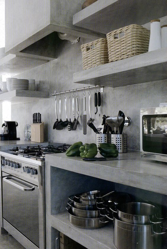 Industrial Kitchen Interior