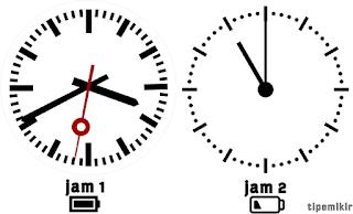 Apa Baterai Mempengaruhi Kecepatan Jam, Perumpamaan Jam dan Baterai