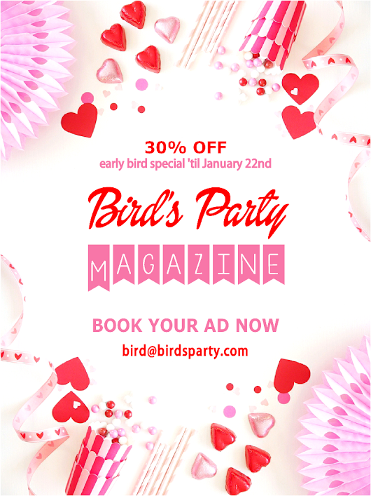 Valentine's Day Magazine Early Bird Special 😍 | Party Ideas | Party Printables