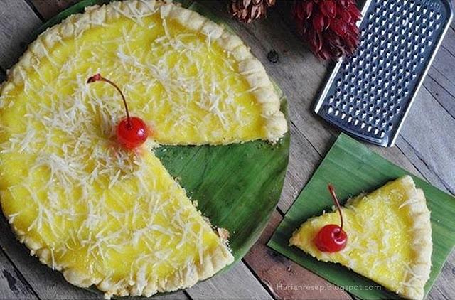 Kalau makan kue ini tuh sekali dua kali gigitan pasti sudah habis ya Resep Pie Susu Teflon a.k.a Egg Tart Keju Tanpa Oven dan Mixer
